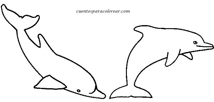 Dibujos Para Colorear Las Amigas Con El Delfin: Dibujos Para Colorear Delfines