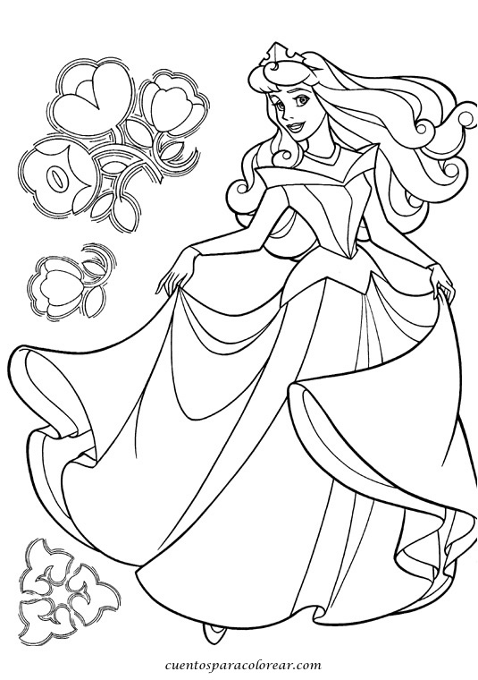 Dibujos Para Pintar Dibujos Para Pintar Gratis De Princesas