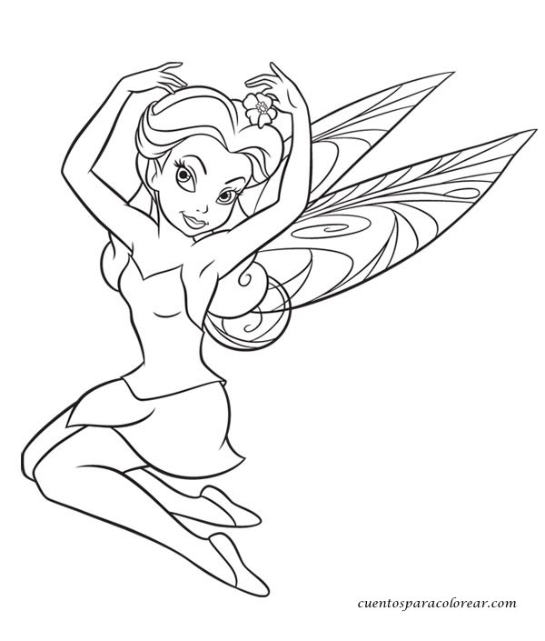 Dibujos para colorear Peter Pan Disney