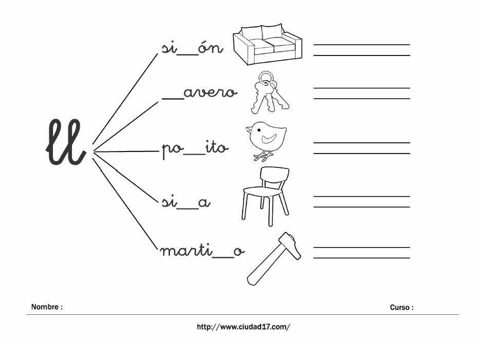 Lujo Actividades Para Niños Imprimibles Modelo - Dibujos Para ...