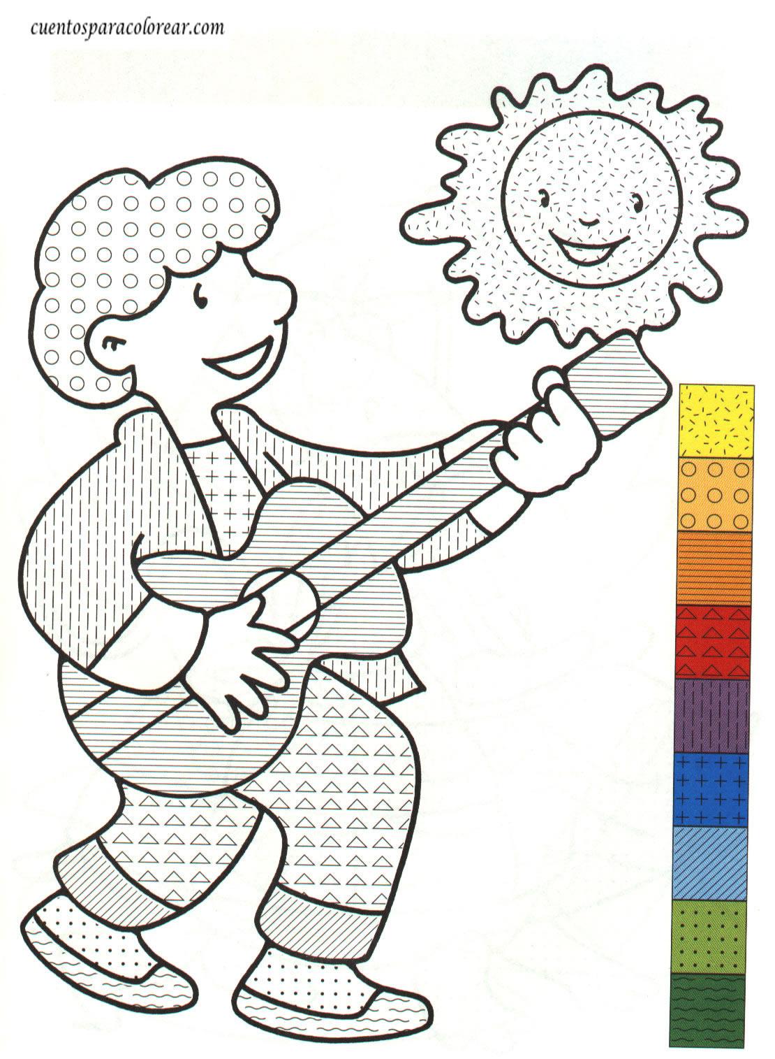 Dibujos para colorear detalles