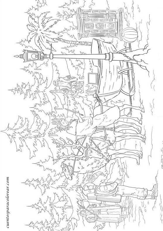 Dibujos Para Colorear Cr 243 Nicas De Narnya