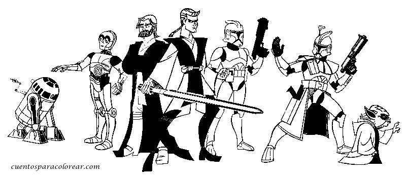 Kleurplaten Star Wars Clone Wars.Kleurplaten Star Wars Clone Troopers Ausmalbilder Ausmalbilder