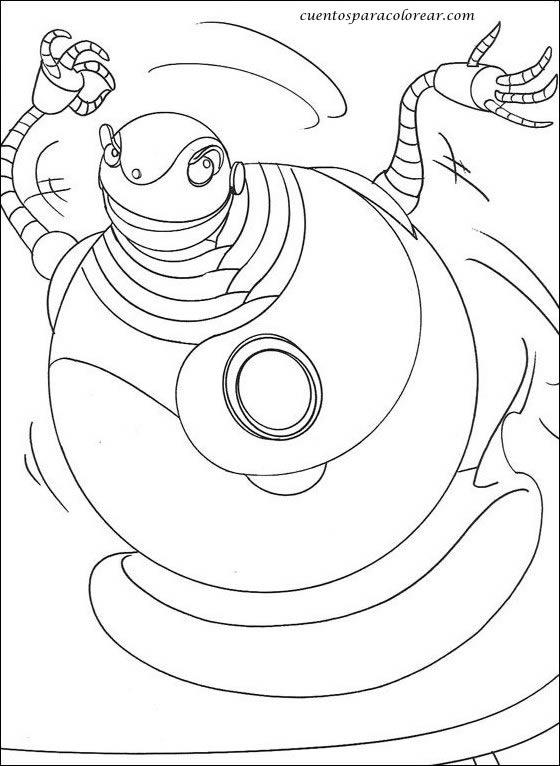 Dibujos para colorear Robots