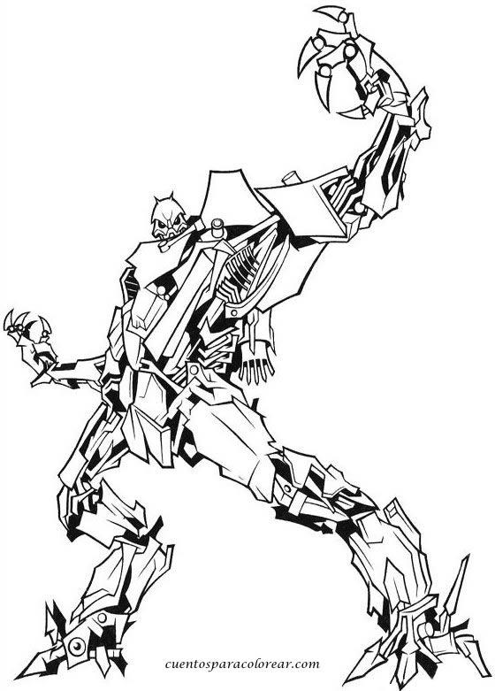 Kleurplaten Transformers Kleurplaten Transformers The Last Knight ...