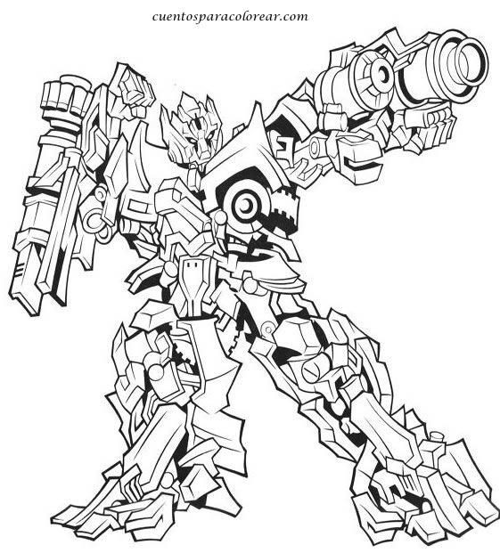 Dibujos para colorear Transformers