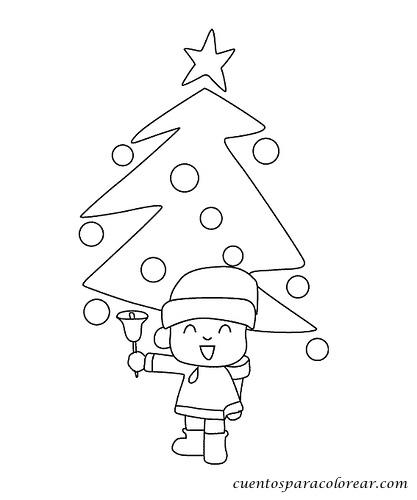 Dibujo Arbol Navidad Para Imprimir. Dibujos Para Imprimir Y Colorear ...