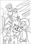 dibujos de los increíbles para colorear y pintar para niños imprimir dibujos infantiles