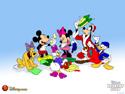 fondos de escritorio disney mickey mouse y sus amigos