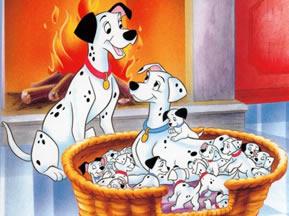 101 dalmatas personajes perros infantiles
