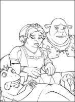 Dibujos para colorear Shrek