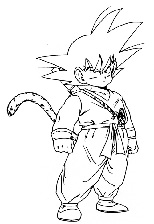 Dibujos para colorear Dragonball