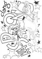 dibujos para colorear disney goofy
