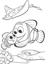 dibujos para colorear disney nemo