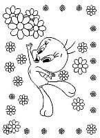 dibujos de piolín para colorear y pintar para niños imprimir dibujos infantiles
