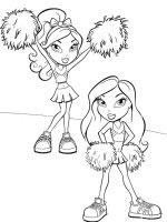 dibujos de bratz para colorear y pintar para niños imprimir dibujos infantiles