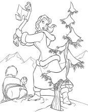 dibujos de la bella y la bestia para colorear y pintar para niños imprimir dibujos infantiles