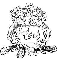 dibujo de la poción mágica de Panorámix para colorear dibujos de asterix colorear y pintar para niños imprimir dibujos infantiles
