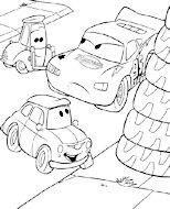 dibujos de cars para colorear y pintar para niños imprimir dibujos infantiles
