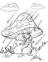 dibujos para colorear y pintar de la abeja Maya