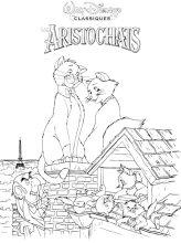 dibujos de aristogatos colorear y pintar para niños imprimir dibujos infantiles