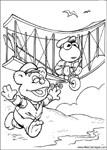dibujos de los teleñecos pequeños para colorear y pintar para niños imprimir dibujos infantiles