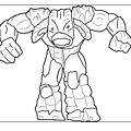 Dibujos para colorear Gormiti