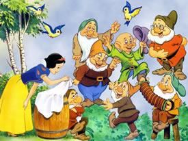 blancanieves y los siete enanitos personajes infantiles