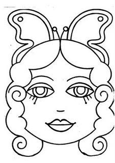 careta de un hada mágica mascara antifaz
