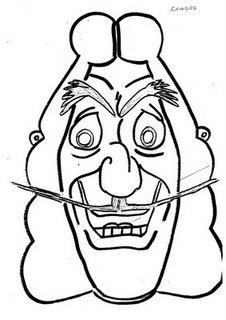 careta del capitan garfio hook mascara antifaz