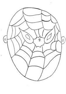 careta de spiderman mascara antifaz