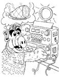 Dibujos para colorear Alf