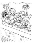 dibujos de Alf para colorear y pintar