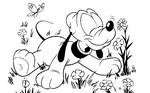dibujos para colorear de los personajes de disney de pequeños