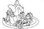 Dibujos para colorear Disney de pequeños