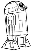 Dibujos para colorear La guerra de las galaxias