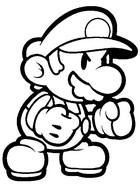 Dibujos para colorear Super Mario