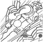 Dibujos para colorear Iron man