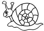 dibujo de un caracol para colorear dibujos de caracoles para colorear y pintar