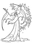 Dibujos para colorear Excalibur