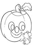 dibujos de halloween para colorear y pintar
