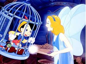 pinocho y el hada madrina personajes infantiles