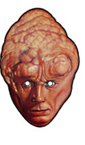 careta de bib fortuna de la guerra de las galaxias mascaras antifaz star wars