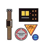 accesorios de reloj y calculadora de la guerra de las galaxias mascaras antifaz star wars