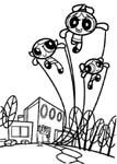 dibujos de supernenas para colorear y pintar para niños imprimir dibujos infantiles
