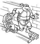 Dibujos para colorear Tortugas Ninja