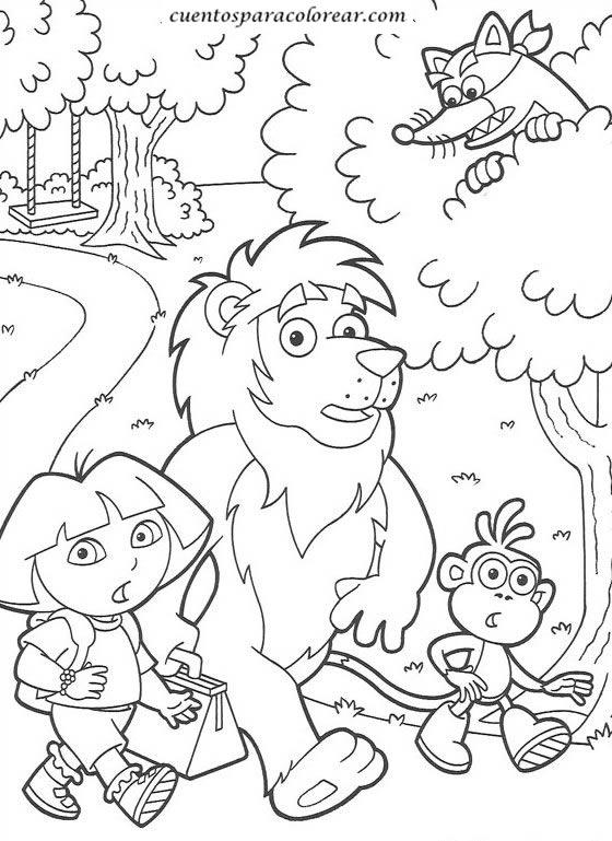 Dibujos Para Colorear Ninos 7 Anos