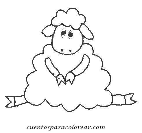 Dibujos para colorear ovejas - Mouton en dessin ...