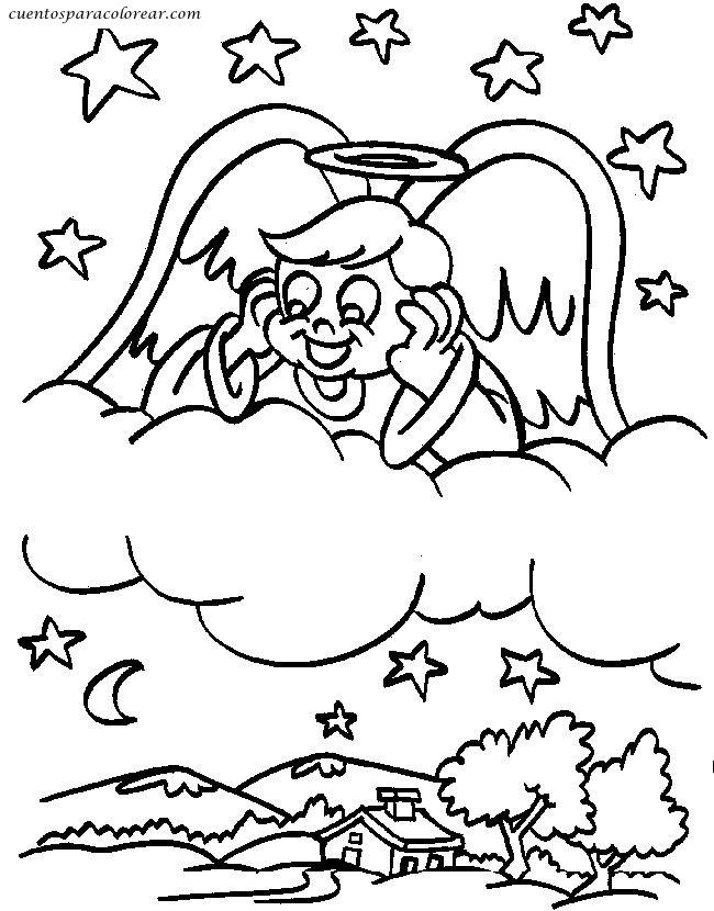 Dibujos para colorear religiones