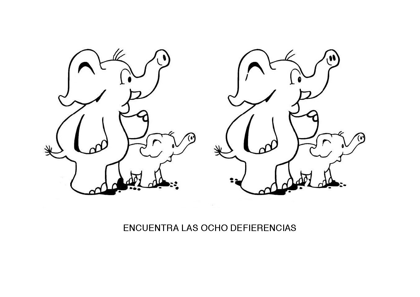 Encontrar las diferencias